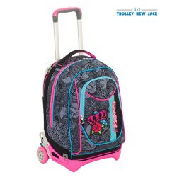 Trolley Seven color nero  Trolley New Jack ROSES GIRL online - Prezzo:   119.90 €
