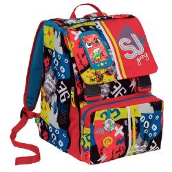 Zaini Seven Scontati  color multicolor  Zaino Estensibile SJ HIGH TECH online - Prezzo:   85.90 €