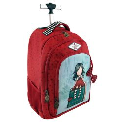 Trolley Gorjuss color rosso  Trolley Fisso My Story online - Prezzo:   96.00 €