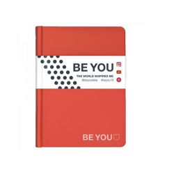 Diario Be You color rosso  Diario BE YOU Datato  online - Prezzo:   15.00 €