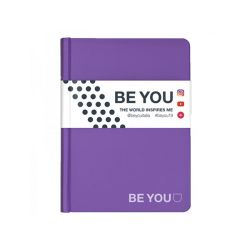 Diario Be You color viola  Diario BE YOU Datato  online - Prezzo:   15.00 €