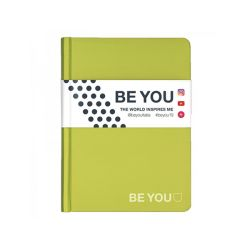 Diario Be You color verde  Diario BE YOU Datato  online - Prezzo:   15.00 €