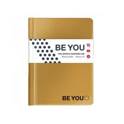 Diario Be You color oro  Diario BE YOU Datato  online - Prezzo:   15.00 €