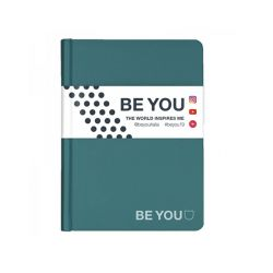 Diario Be You color blu  Diario BE YOU Datato  online - Prezzo:   15.00 €
