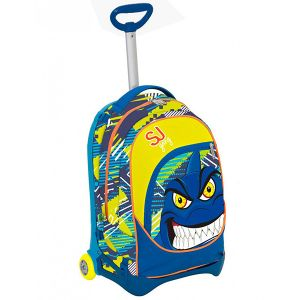 Trolley Seven color blu  Trolley Jack SJ Junior ANIMALS online - Prezzo:   104.90 €