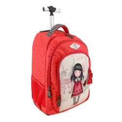 Trolley Gorjuss color arancione  Trolley Fisso Time to Fly online - Prezzo:   96.00 €