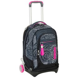 Trolley Seven color nero  Trolley NEW JACK Mandala online - Prezzo:   119.90 €
