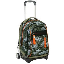 Trolley Seven color verde  Trolley NEW JACK Totem online - Prezzo:   119.90 €