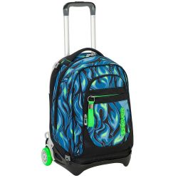 Trolley Seven color verde/blu  Trolley NEW JACK Avium online - Prezzo:   119.90 €