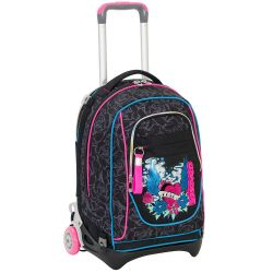Trolley Seven color nero  Trolley NEW JACK Lefleur online - Prezzo:   119.90 €