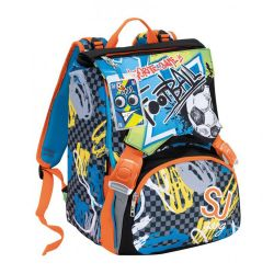 Zaino Seven color multicolor  Zaino SDOPPIABILE HIGH TECH SJ Boy online - Prezzo:   88.90 €