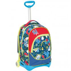 9dbaaf87e2 Zaini SJ color multicolor Trolley JACK JUNIOR SJ Boy online - Prezzo:  109.90 €