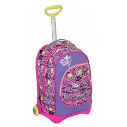 Trolley Seven color rosa  Trolley SJ Jack Junior HIGH TECH online - Prezzo:   84.72 €