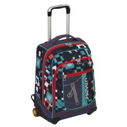 Trolley Seven color nero  Trolley MaxiRound BUNDLE BOY online - Prezzo:   84.72 €