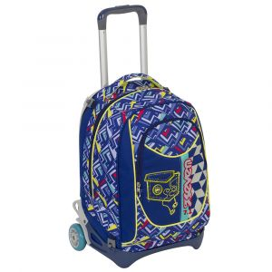Trolley Seven color blu  Trolley NewJack WINDGET online - Prezzo:   95.92 €