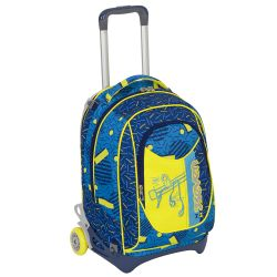 Trolley Seven color blu  Trolley NewJack SWAG BOY online - Prezzo:   115.90 €