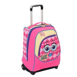 Trolley Seven color rosa  Trolley Big Fisso SJ GANG online - Prezzo:   89.90 €