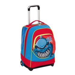 Trolley Seven color blu  Trolley Big Fisso SJ GANG online - Prezzo:   89.90 €